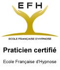 Praticienne certifiée en hypnose par l'EFH